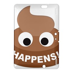 Poo Happens Kindle Fire Hdx 8 9  Hardshell Case