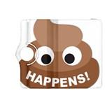 Poo Happens Kindle Fire HDX 8.9  Flip 360 Case Front