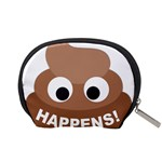 Poo Happens Accessory Pouches (Small)  Back