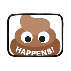 Poo Happens Netbook Case (small)
