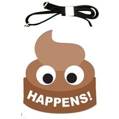 Poo Happens Shoulder Sling Bags