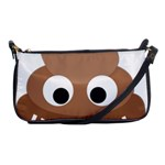 Poo Happens Shoulder Clutch Bags Front