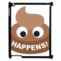 Poo Happens Apple Ipad 2 Case (black)