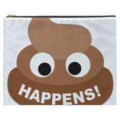 Poo Happens Cosmetic Bag (xxxl)