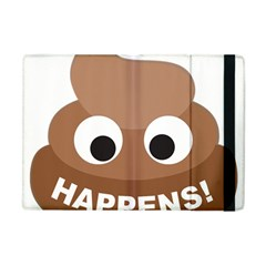 Poo Happens Apple Ipad Mini Flip Case