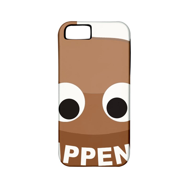 Poo Happens Apple iPhone 5 Classic Hardshell Case (PC+Silicone)