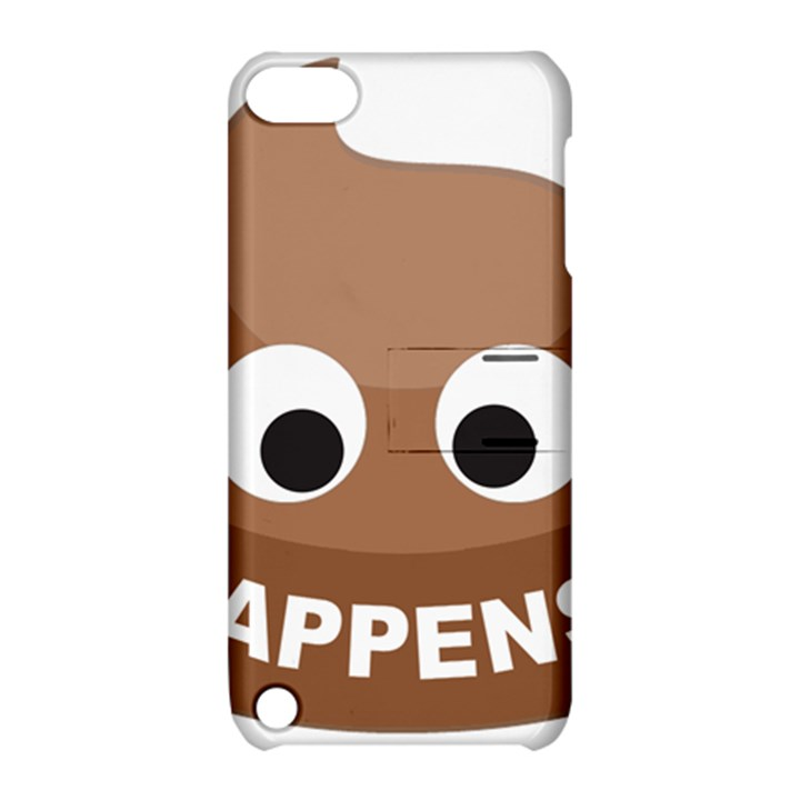 Poo Happens Apple iPod Touch 5 Hardshell Case with Stand