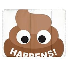 Poo Happens Samsung Galaxy Tab 7  P1000 Flip Case