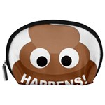Poo Happens Accessory Pouches (Large)  Front