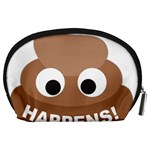 Poo Happens Accessory Pouches (Large)  Back