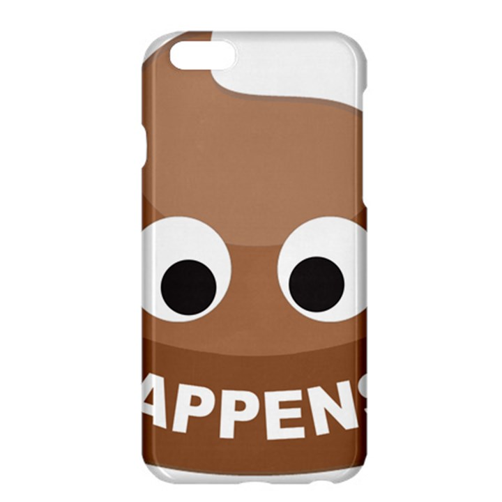 Poo Happens Apple iPhone 6 Plus/6S Plus Hardshell Case