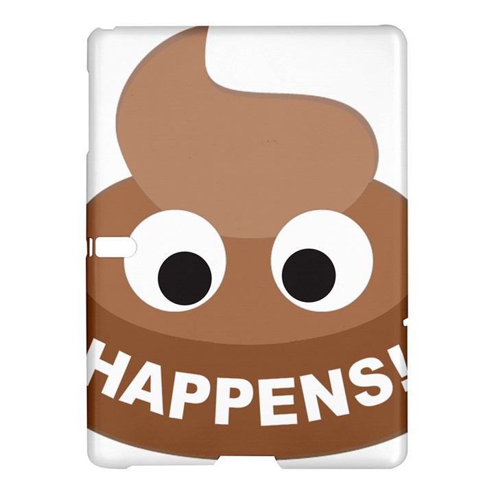 Poo Happens Samsung Galaxy Tab S (10.5 ) Hardshell Case