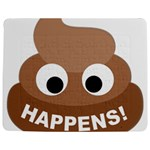 Poo Happens Jigsaw Puzzle Photo Stand (Rectangular) Front