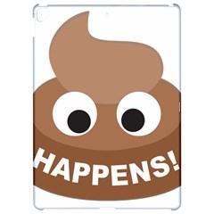 Poo Happens Apple Ipad Pro 12 9   Hardshell Case