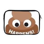 Poo Happens Apple MacBook Pro 17  Zipper Case Front