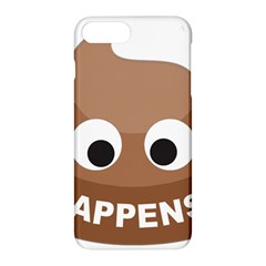 Poo Happens Apple Iphone 8 Plus Hardshell Case