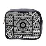 Wavy Panels Mini Toiletries Bag 2-Side Front