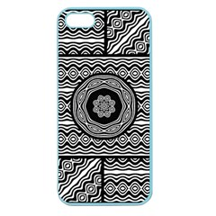 Wavy Panels Apple Seamless Iphone 5 Case (color)