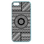 Wavy Panels Apple Seamless iPhone 5 Case (Color) Front