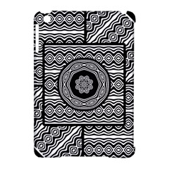 Wavy Panels Apple Ipad Mini Hardshell Case (compatible With Smart Cover)