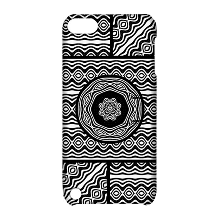 Wavy Panels Apple iPod Touch 5 Hardshell Case with Stand