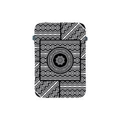 Wavy Panels Apple Ipad Mini Protective Soft Cases