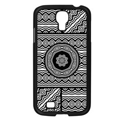 Wavy Panels Samsung Galaxy S4 I9500/ I9505 Case (black)