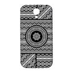 Wavy Panels Samsung Galaxy S4 I9500/I9505  Hardshell Back Case Front