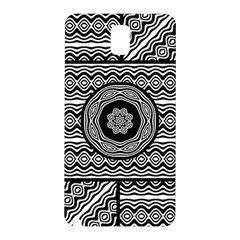 Wavy Panels Samsung Galaxy Note 3 N9005 Hardshell Back Case