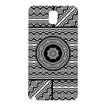 Wavy Panels Samsung Galaxy Note 3 N9005 Hardshell Back Case Front