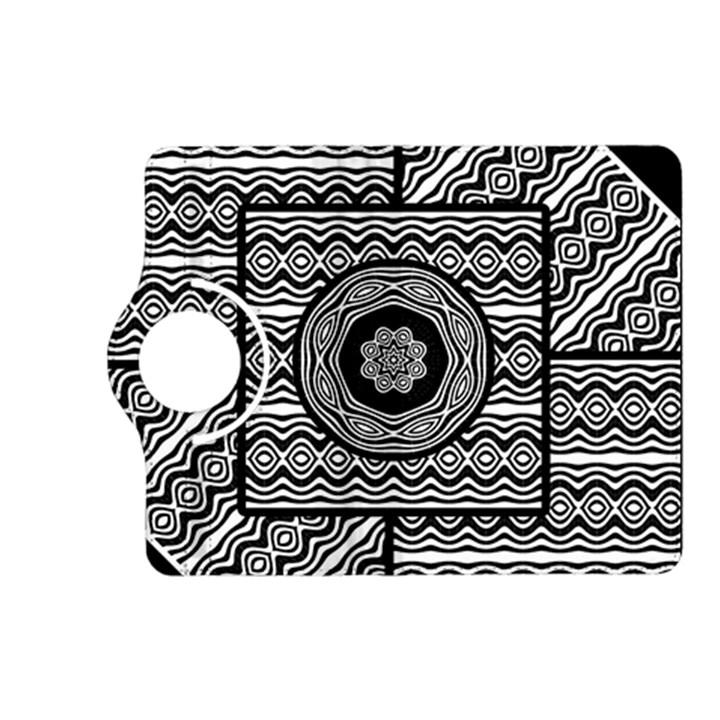 Wavy Panels Kindle Fire HD (2013) Flip 360 Case