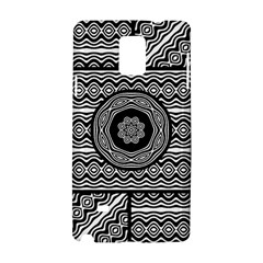 Wavy Panels Samsung Galaxy Note 4 Hardshell Case