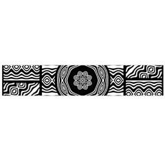 Wavy Panels Flano Scarf (large)