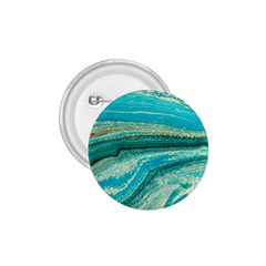 Mint,gold,marble,nature,stone,pattern,modern,chic,elegant,beautiful,trendy 1 75  Buttons