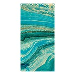 Mint,gold,marble,nature,stone,pattern,modern,chic,elegant,beautiful,trendy Shower Curtain 36  x 72  (Stall)  33.26 x66.24 Curtain