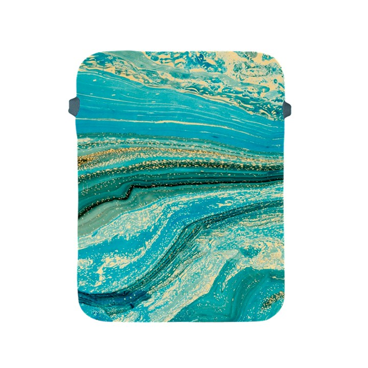 Mint,gold,marble,nature,stone,pattern,modern,chic,elegant,beautiful,trendy Apple iPad 2/3/4 Protective Soft Cases
