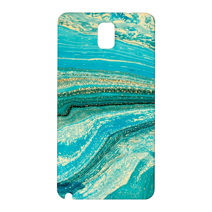 Mint,gold,marble,nature,stone,pattern,modern,chic,elegant,beautiful,trendy Samsung Galaxy Note 3 N9005 Hardshell Back Case