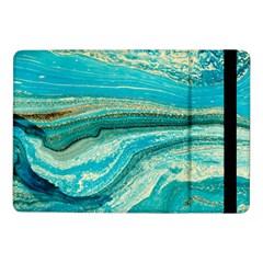 Mint,gold,marble,nature,stone,pattern,modern,chic,elegant,beautiful,trendy Samsung Galaxy Tab Pro 10 1  Flip Case