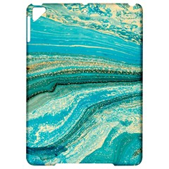 Mint,gold,marble,nature,stone,pattern,modern,chic,elegant,beautiful,trendy Apple Ipad Pro 9 7   Hardshell Case