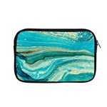Mint,gold,marble,nature,stone,pattern,modern,chic,elegant,beautiful,trendy Apple MacBook Pro 13  Zipper Case Front