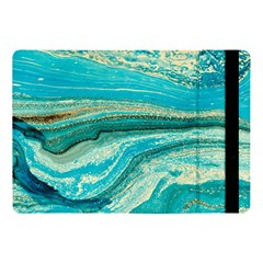 Mint,gold,marble,nature,stone,pattern,modern,chic,elegant,beautiful,trendy Apple Ipad Pro 10 5   Flip Case