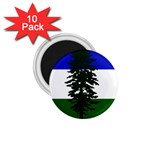 Flag of Cascadia 1.75  Magnets (10 pack)  Front