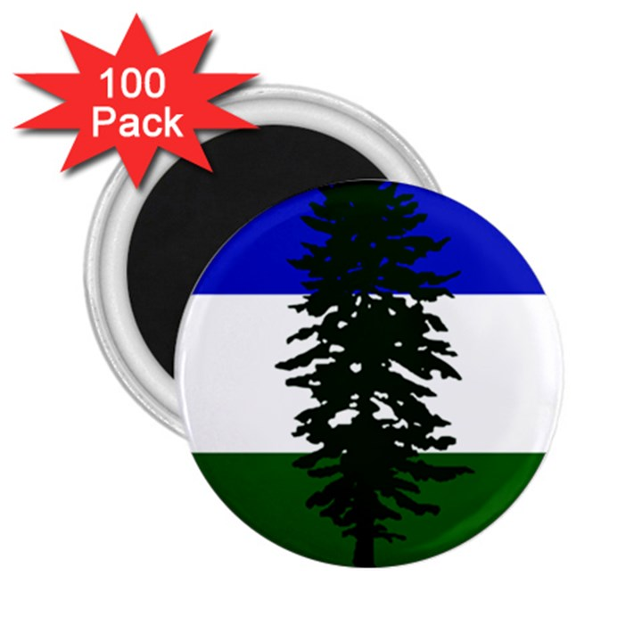 Flag of Cascadia 2.25  Magnets (100 pack)