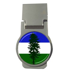 Flag Of Cascadia Money Clips (round)