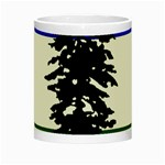 Flag of Cascadia Night Luminous Mugs Center