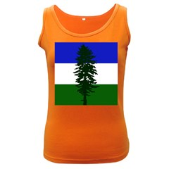 Flag Of Cascadia Women s Dark Tank Top
