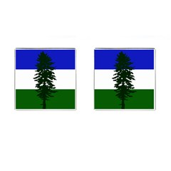 Flag Of Cascadia Cufflinks (square)
