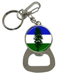 Flag of Cascadia Button Necklaces Front