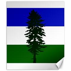 Flag Of Cascadia Canvas 8  X 10