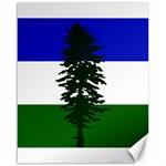 Flag of Cascadia Canvas 16  x 20   20 x16 Canvas - 1